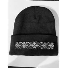 Machine embroidery cap