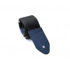 Guitar strap STANDARD, colour blue-gray end cap